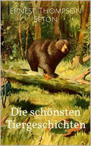 """Buchcover der """"Schönsten Tiergeschichten"""" von Thompson"""
